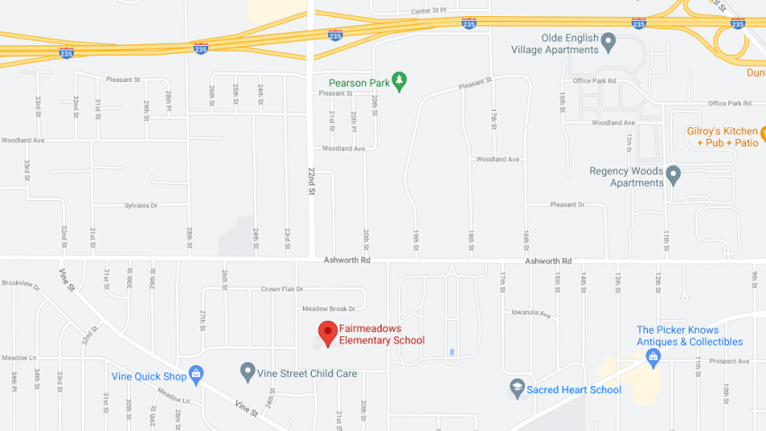 Google Map to Fairmeadows School